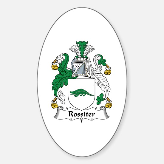 Rossiter Oval Decal