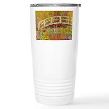 Monet Japanese Bridge Travel Mug