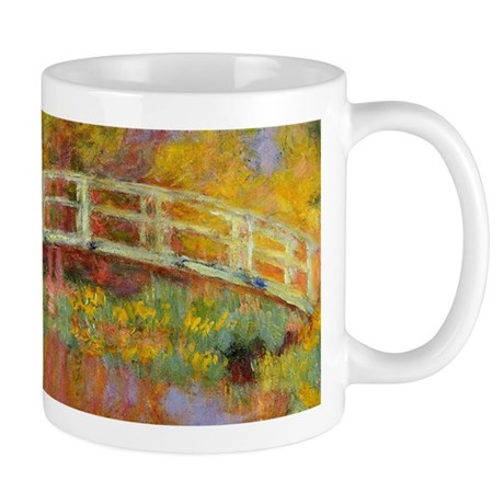 Monet Japanese Bridge Mugs