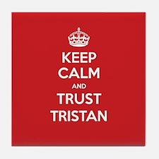 Trust Tristan Tile Coaster