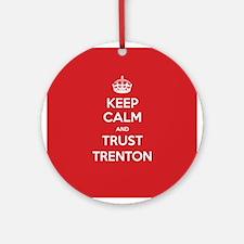 Trust Trenton Ornament (Round)