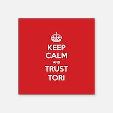 Trust Tori Sticker