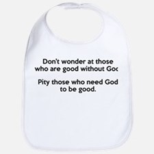 Good Without God Atheism Bib