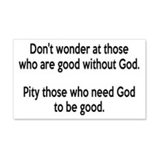 Good Without God Atheism Wall Decal