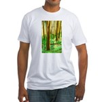 TREEHUGGERS DELIGHT Fitted T-Shirt