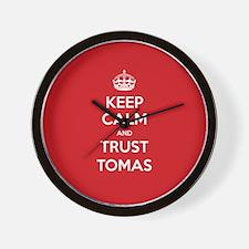 Trust Tomas Wall Clock