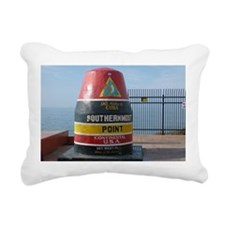 Southernmost Point U.S.A. Rectangular Canvas Pillo