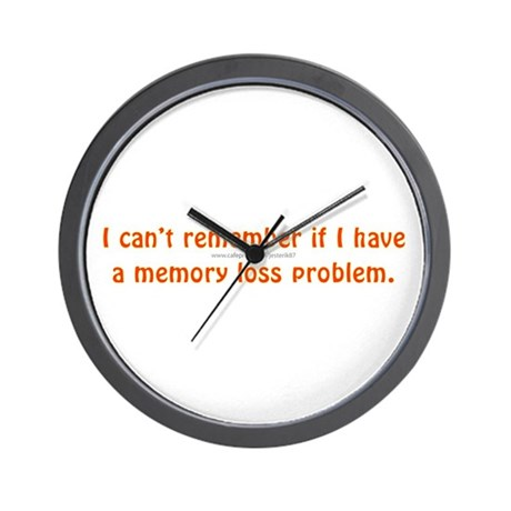 I can't remember Wall Clock