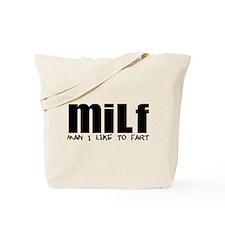 MILF - Fart Tote Bag