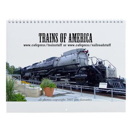 Trains of America Wall Calendar