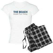Beach Cheaper Than Therapy Pajamas