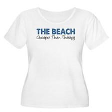 Beach Cheaper Than Therapy Plus Size T-Shirt