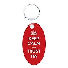Trust Tia Keychains