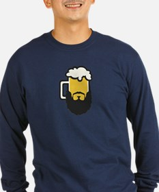 Beer Beard Long Sleeve T-Shirt