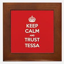 Trust Tessa Framed Tile