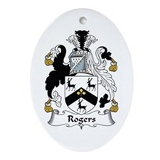Rogers Oval Ornament