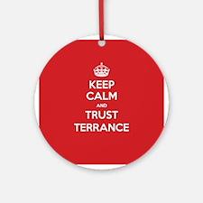 Trust Terrance Ornament (Round)
