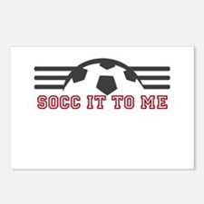 Socc It To Me Postcards (Package of 8)
