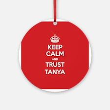 Trust Tanya Ornament (Round)