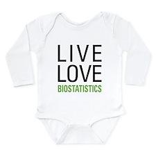 Live Love Biostatistic Long Sleeve Infant Bodysuit