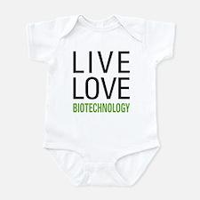 Live Love Biotechnology Infant Bodysuit
