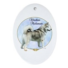 Mal Portrait Oval Ornament