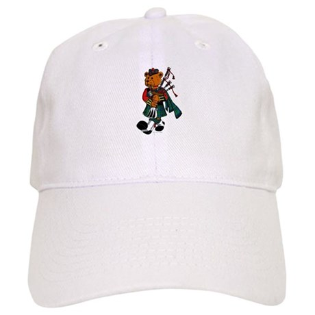 Jimmie the Scottish Piper Bear Cap