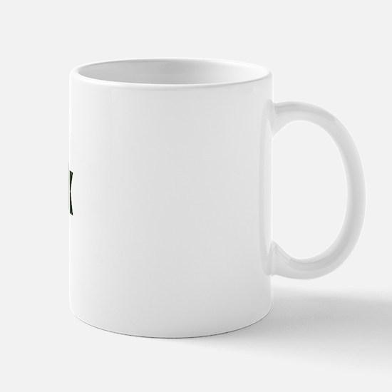 Camo Heart Army Wife Mug