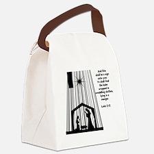 Luke 2:12 Canvas Lunch Bag