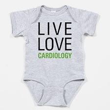 Live Love Cardiology Baby Bodysuit