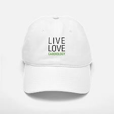 Live Love Cardiology Baseball Baseball Cap