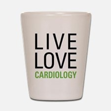 Live Love Cardiology Shot Glass