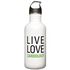 Live Love Cardiology Water Bottle