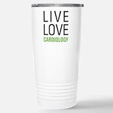 Live Love Cardiology Stainless Steel Travel Mug