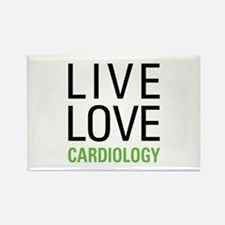 Live Love Cardiology Rectangle Magnet