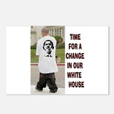 OBAMA FASHION Postcards (Package of 8)