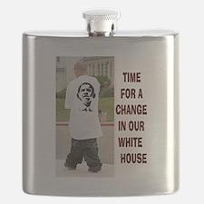 OBAMA FASHION Flask