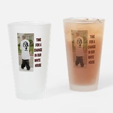 OBAMA FASHION Drinking Glass