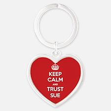 Trust Sue Keychains