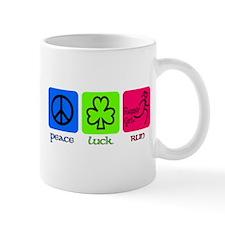 Peace Luck Run Mugs