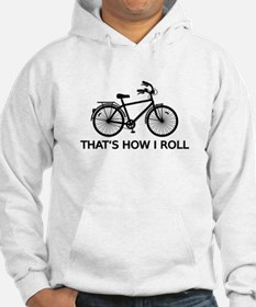 Thats how I roll, word art, text design with bicyc