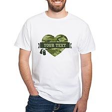 PD Army Camo Heart Shirt