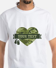 PD Army Camo Heart Shirt