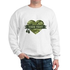 PD Army Camo Heart Sweatshirt