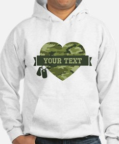 PD Army Camo Heart Jumper Hoody