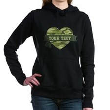 PD Army Camo Heart Hooded Sweatshirt