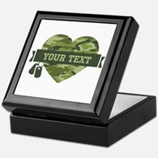PD Army Camo Heart Keepsake Box