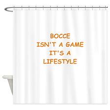 bocce Shower Curtain