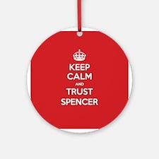 Trust Spencer Ornament (Round)