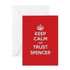 Trust Spencer Greeting Cards